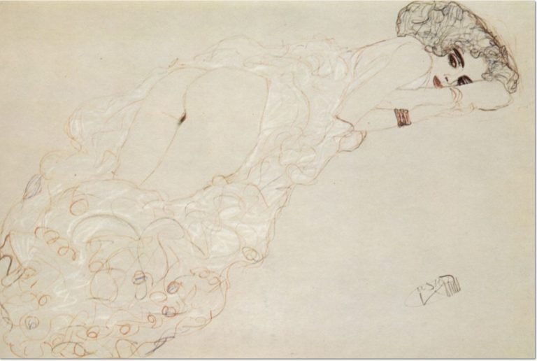 Gustav Klimt – Nude Drawings (Part I)