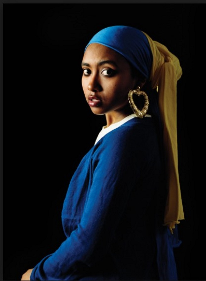 Awol Erizku – Girl with the Pearl Earring