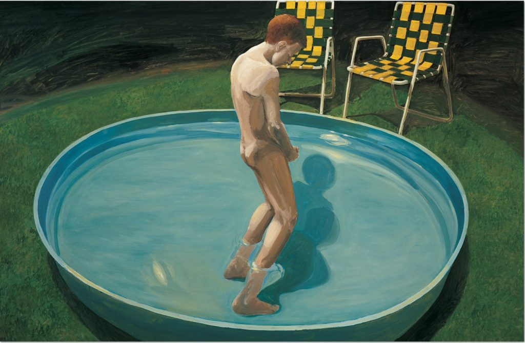 "Eric Fischl: ""Sleepwalker"", 1979, Oil on Canvas, 175 x 267 cm. Copyright © The artist"