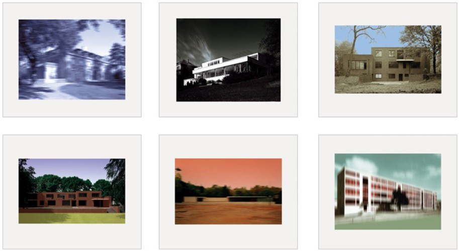 Thomas Ruff l.m.v.d.r. 2004 Set of 6 C-prints mounted on aluminum (Dibond), 58 x 70 cm (23 x 27½ in), each signed and numbered. Edition of 40, in aluminum box.