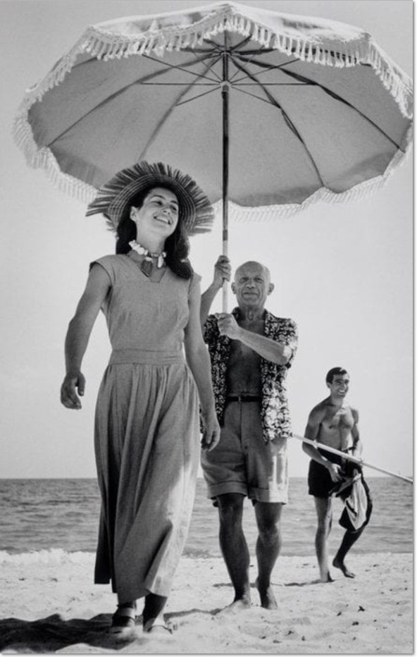 Picasso and Françoise Gilot at the Côte d'Azur