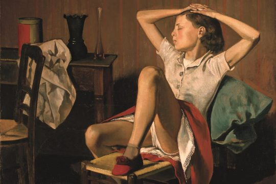 Balthus, Thérèse rêvant, 1938, Metropolitan Museum of Art (détails)