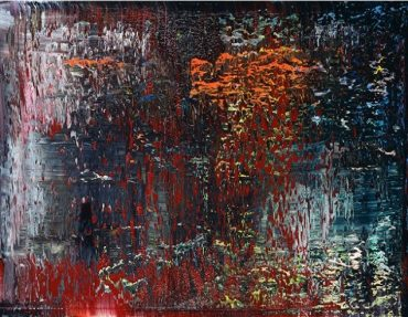"Gerhard Richter: ""AB St John"", 2016/1988, Offset print after the oil painting of the same title from 1988, Catalogue Raisonné: 653-4, sizes: 55 x 76,8 or 75 x 100 cm"