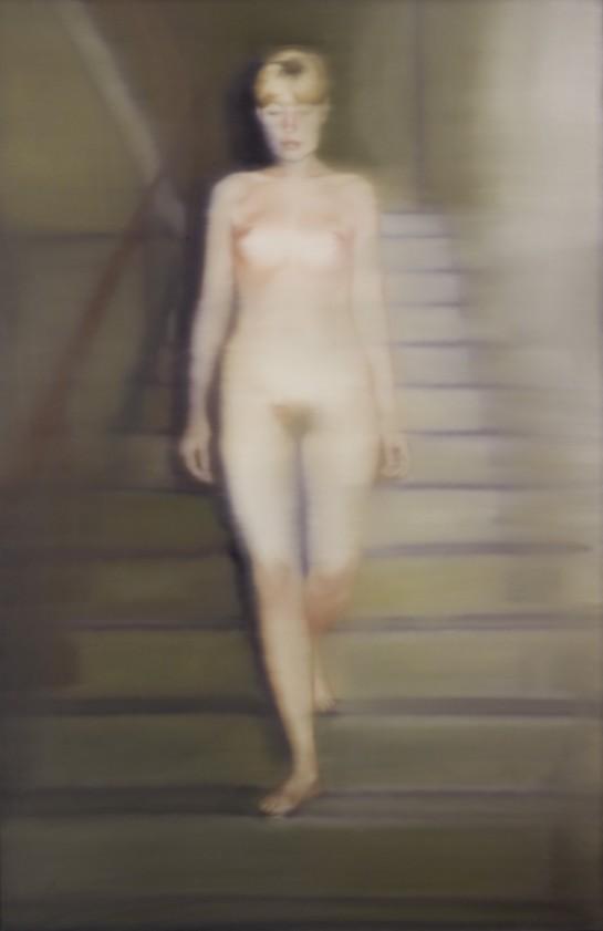 Gerhard Richter – Ema (Akt auf einer Treppe) 1966