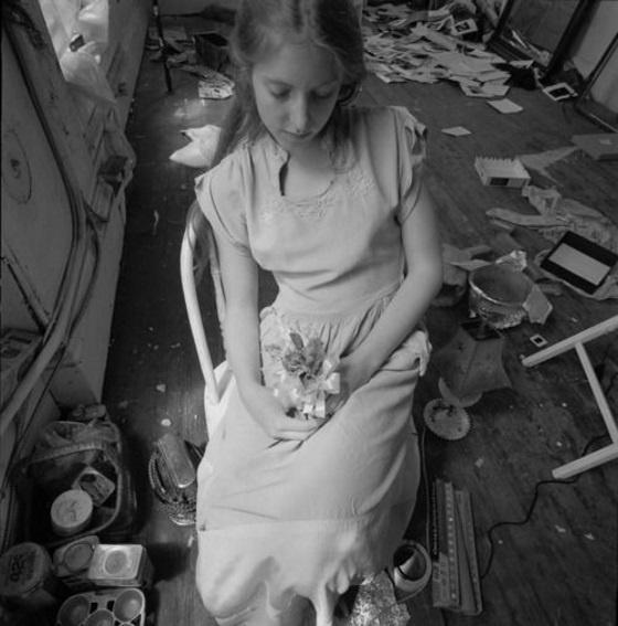 Francesca Woodman, House # 3, Providence, Rhode Island, 1976