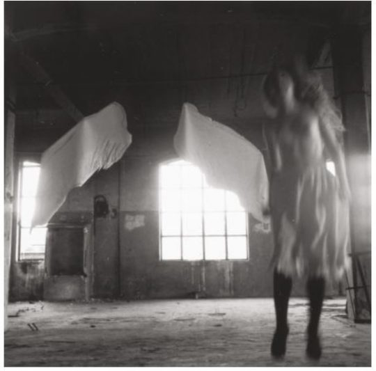 Francesca Woodman Untitled (from Angel Series, Rome) 1977–1978