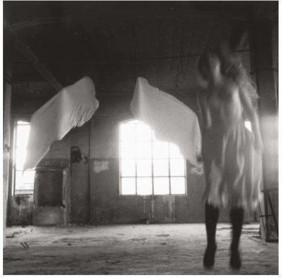 Francesca Woodman Untitled (from Angel Series, Rome) 1977–1978