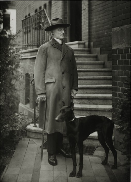 August Sander 'The Notary, 1924, Gelatin silver print, size 9 45 × 7 ½ in 25 × 19 cm