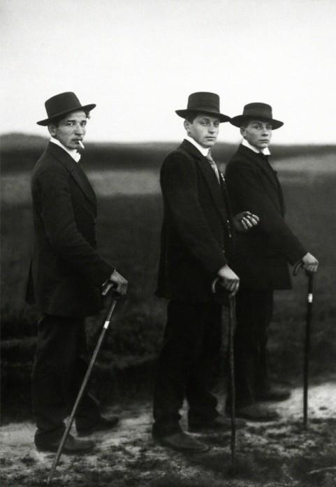 August Sander Jungbauern, Westerwald, 1914