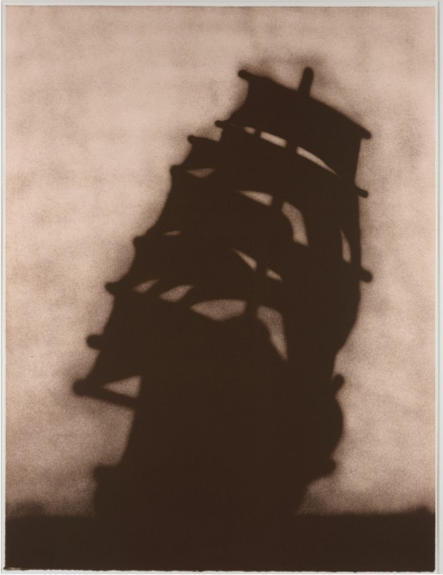 Ed Ruscha: 'Ship', 1986, Lithograph, signed and numbered, edition of 30, size: 45 x 33 7/8 inches - 114,3 x 83,8 cm