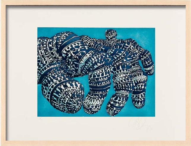 "Tony Cragg: ""Manipulation 2"", 2007, Lithograph on hand made paper, signed and numbered, edition of 24, size: 50 x 66 cm, framed: 53 x 69 cm. Ask for price!"