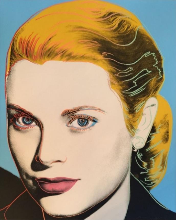 Andy Warhol – Grace Kelly