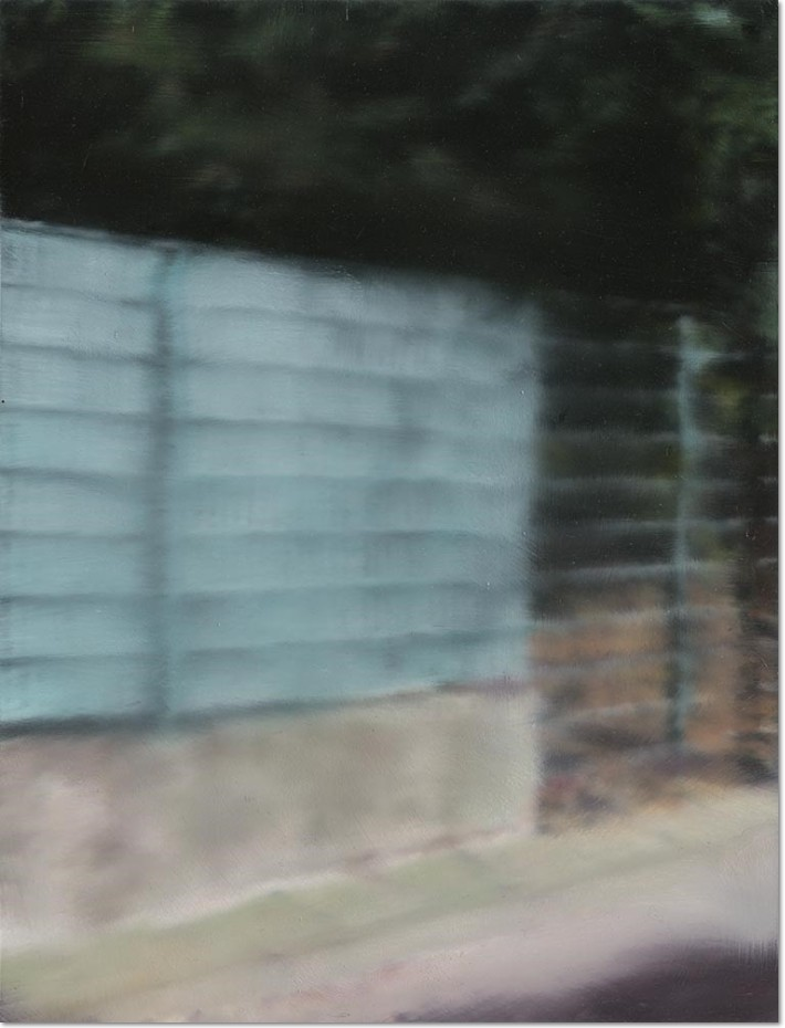 Gerhard Richter: 'Fence', 2015, diasec mounted chromogenic print laid on aluminium, numbered, not signed on the reserve, edition of 500, size: 35.5 x 27 cm / 14 x 10 5/8 in. Provenance: Fondation Beyeler, Basel.