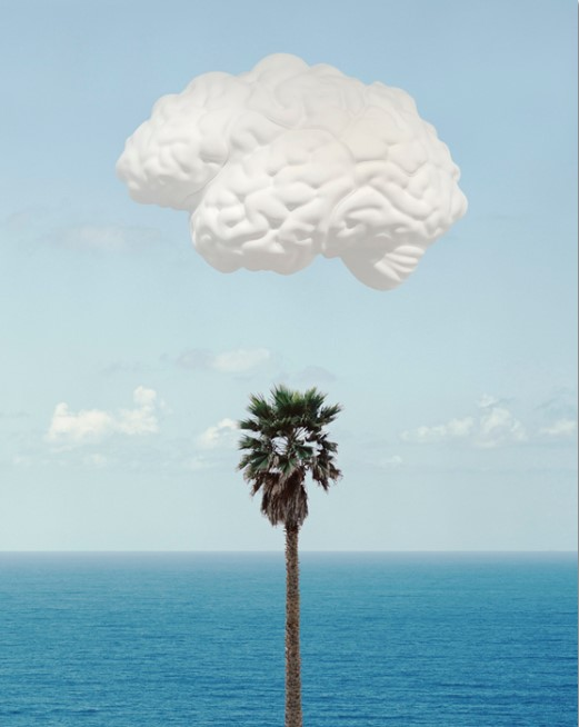 John Baldessari – Brain Cloud