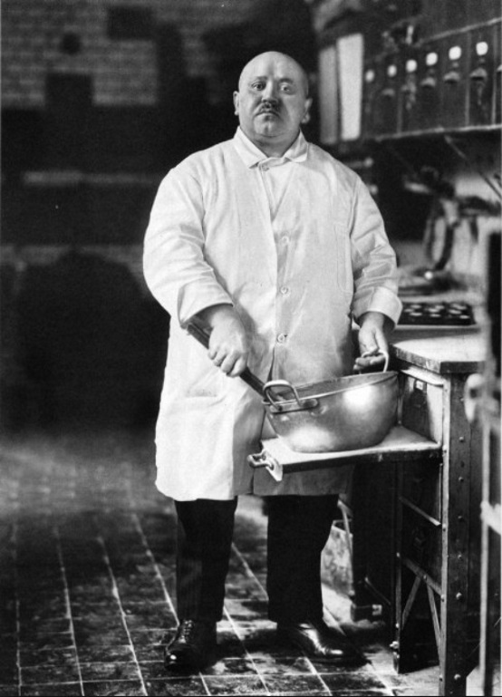 August Sander  – The Pastry Cook