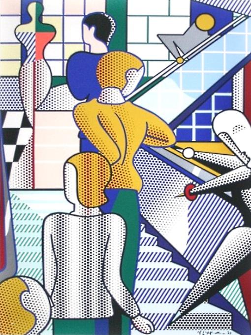 Roy Lichtenstein –  Art About Art About Art