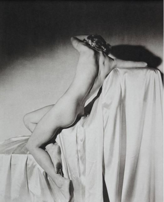 Horst P. Horst Lisa on Silk II, N.Y. 1940