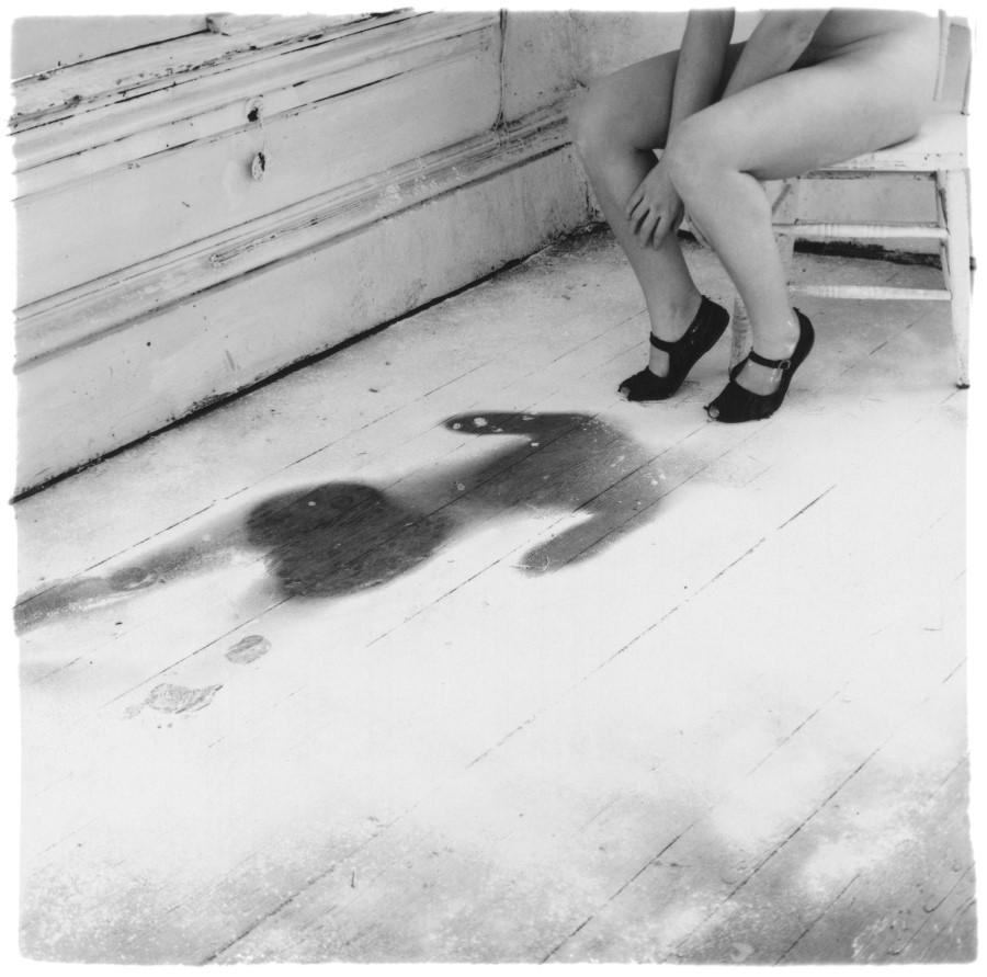 Francesca Woodman, Untitled, Angel Series, 1977