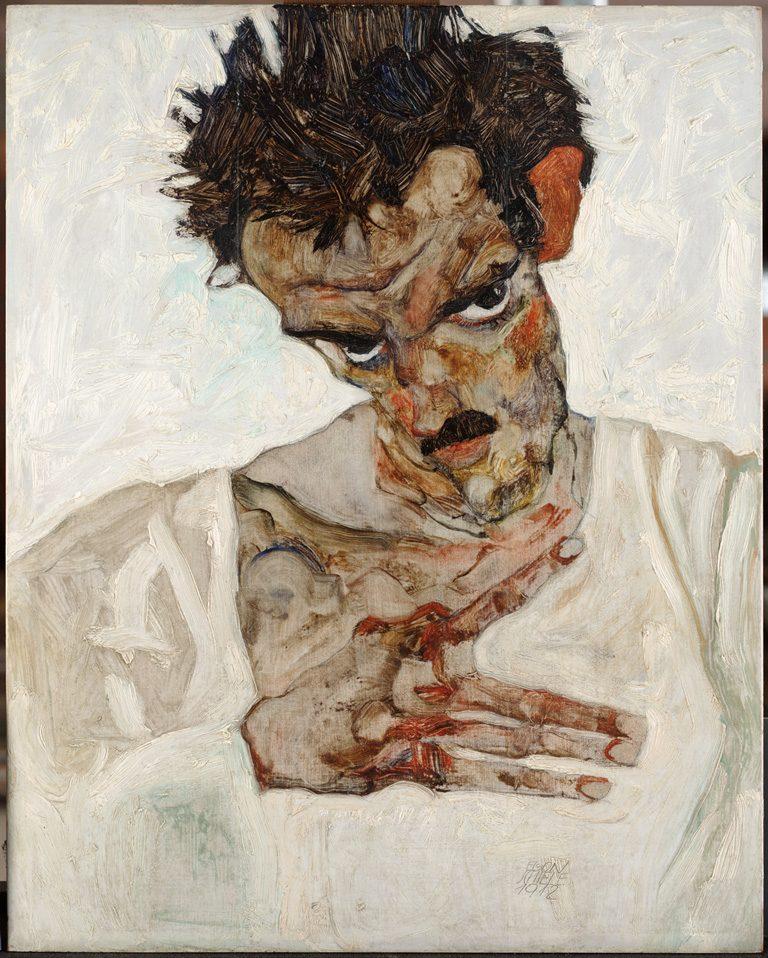 Egon Schiele – Selfportraits